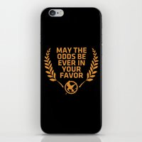 May The Odds Be Ever In … iPhone & iPod Skin