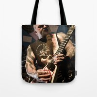 Kerry King of Slayer Tote Bag