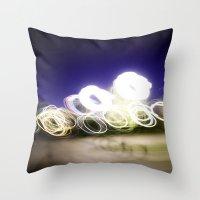 Lights Throw Pillow