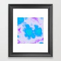 Splattered Sky Framed Art Print