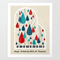 Chopin - Prelude Op. 28 … Art Print