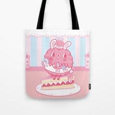 LULU Cake Bunny girls Tote Bag