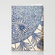 Blue Oriental Vintage Ti… Stationery Cards