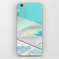 The Girl With X-Ray Eyes iPhone & iPod Skin