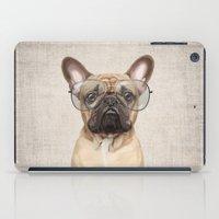 Mr Bulldog iPad Case