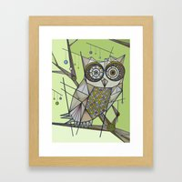 Sleeping's For The Birds! Framed Art Print