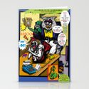 Bird of Steel Comix - Page #5 of 8 (Society 6 POP-ART COLLECTION SERIES)  Stationery Cards
