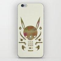 토끼해적단 TOKKI PIRATES iPhone & iPod Skin