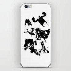 The Avengers Minimal Black and White iPhone & iPod Skin