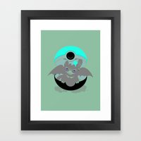 How To Catch Your Dragon Framed Art Print