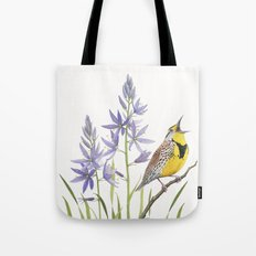 Morning in the Meadow Tote Bag