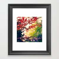Cloudy With  A Chance Of… Framed Art Print