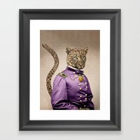 Grand Viceroy Leopold Le… Framed Art Print