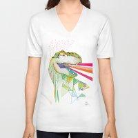 Dinosaur / August Unisex V-Neck