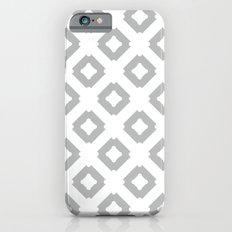 Graphic_Tile Grey Slim Case iPhone 6s