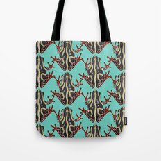 congo tree frog mint Tote Bag