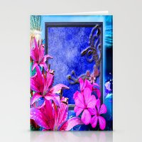 Window Sill Art Stationery Cards