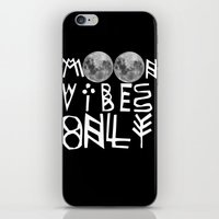 MOON vibes only! iPhone & iPod Skin