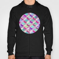 Patchwork Ribbon Ogee Pa… Hoody