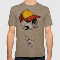 Truckin' Mens Fitted Tee Tri-Coffee SMALL
