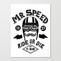 Mr. Speed Canvas Print