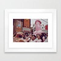 Kanamara Matsuri Framed Art Print