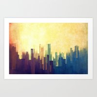 The Cloud City Art Print