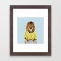 Mr. Blazing Framed Art Print