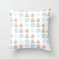 The Avatar Cycle Throw Pillow