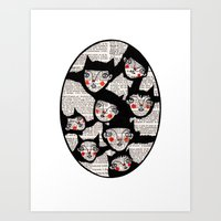 Connections Art Print