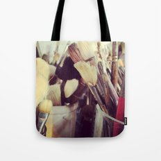 Paintbrush Heaven Tote Bag