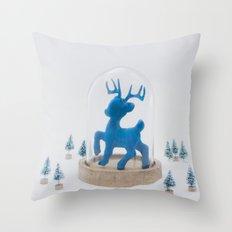 Oh deer, it's Christmas already! Throw Pillow