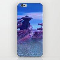 seacity2 iPhone & iPod Skin