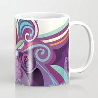 Floral curves of Joy Mug