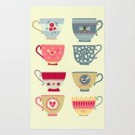 Tea Cups Rug