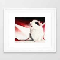 Framed Art Print featuring Shine by R. Delage