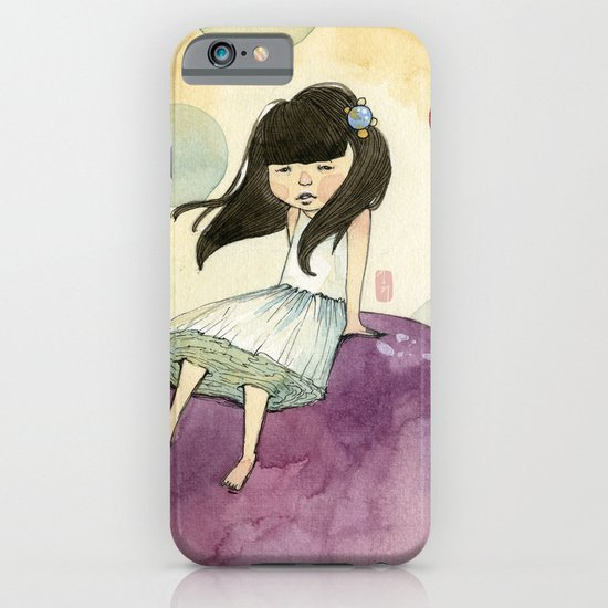 a bubble girl iPhone & iPod Case