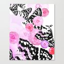 Camellia Blush Canvas Print