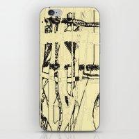 Plaid de mode iPhone & iPod Skin