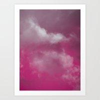 Grace Pink Version Art Print