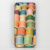 Sew a Rainbow iPhone & iPod Skin