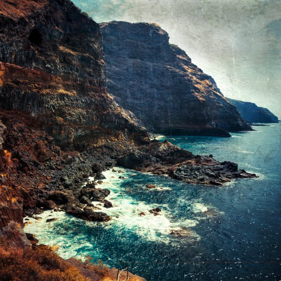 Wild Coast - La Palma - Canary Islands Art Print