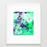 Hula Traffic Framed Art Print
