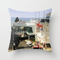 Shop By The Bay Throw Pillow