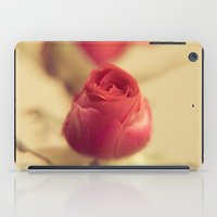 A red rose for your sweetheart ... iPad Case