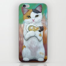 KITTY AND OYSTER iPhone & iPod Skin