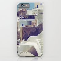 iPhone & iPod Case featuring Streets of Santorini III by istillshootfilm