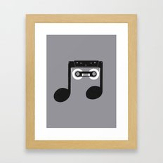 Analog Music Framed Art Print
