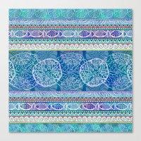 Ocean Stripe Canvas Print