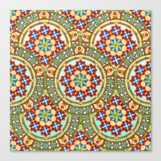 Westminster Mandala Allover II Canvas Print